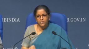 ढाई महीने में 6.45 लाख करोड़ रुपये के ऋण को मिली मंजूरी : सीतारमण