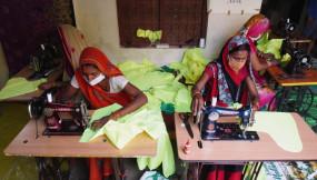 उप्र: कोरोना संकट में ग्रामीण महिलाओं ने देश के लिए दिया बड़ा योगदान, तैयार किए 61 लाख मास्क