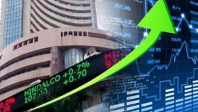 आर्थिक पैकेज का असर: सेंसेक्स 637 अंक चढ़ा, निफ्टी 9383 के पार बंद