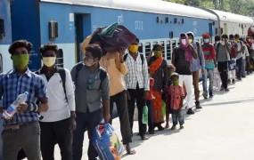 श्रमिक स्पेशल: 30 घंटे का रास्ता 4 दिन में पूरा कर रही ट्रेन, भूख-प्यास सेमजदूर परेशान