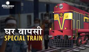 Shramik Special Train: यात्रियों के लिए रेलवे ने जारी किए नियम, जानें कैसे मिलेगा टिकट, खाना और पानी
