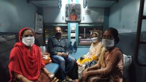 लॉकडाउन: तमिलनाडु से 1136 यात्रियों को लेकर रांची के लिए रवाना हुई विशेष ट्रेन