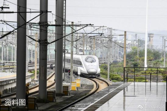 चीन में 2020 के अंत तक हाई स्पीड रेलमार्ग की कुल लंबाई 39 हजार किमी पहुंचेगी