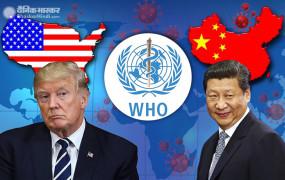 US: राष्ट्रपति डोनाल्ड ट्रंप ने चीन के खिलाफ खोला मोर्चा, WHO से भी तोड़े सारे संबंध