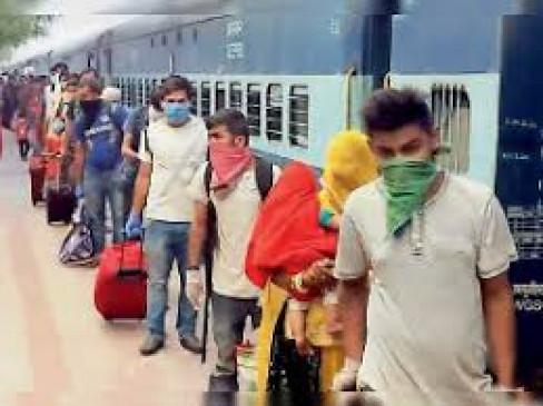 महाराष्ट्र में799 ट्रेनों से भेजे गए 11 लाख 54 हजार प्रवासी