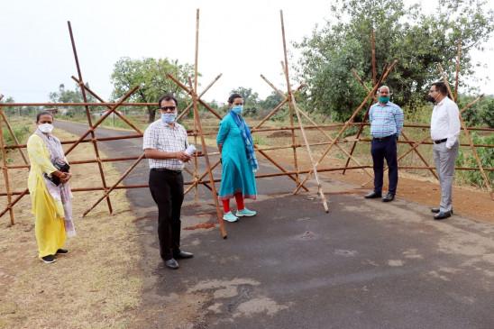 पुष्पराजगढ़ के 9 गांव में 2 दिन का कफ्र्यू - करोना संक्रमितों के संपर्क में आए 64 लोग क्वारेंटाइन
