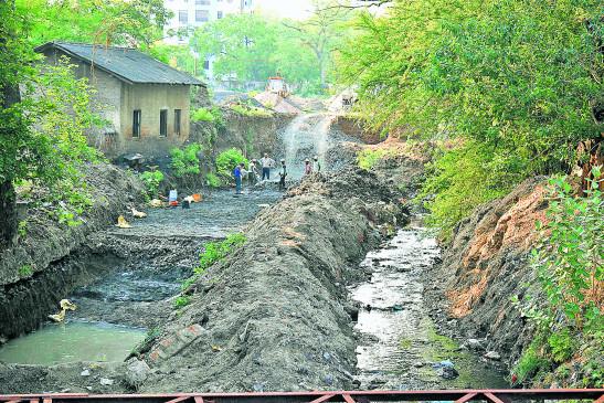 नागपुर के 211 नदी व नाले साफ, कई नालेे अभी भी दुर्दशा में