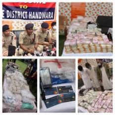 कश्मीर: पाक प्रायोजित नार्को-टेरर मॉड्यूल का भंडाफोड़, 100 करोड़ की हेरोइन और 1.34 करोड़ कैश के साथ आतंकियों के 3 मददगार गिरफ्तार