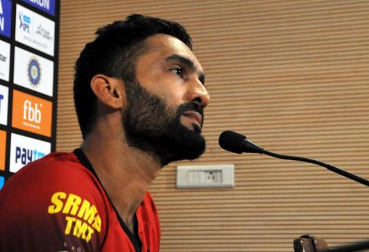 बयान: दिनेश कार्तिक ने कहा, मैच खेलने से पहले 4 सप्ताह की ट्रेनिंग चाहिए होगी