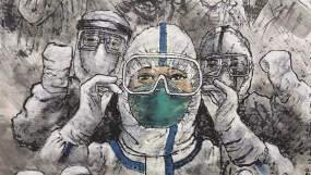 चीन में कोरोना से लड़ाई में 6 लाख चिकित्सकों ने दिया योगदान