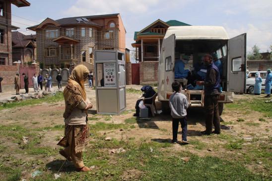 कश्मीर की 98 फीसदी आबादी कोरोना के प्रति अतिसंवेदनशील