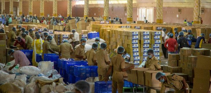 अक्षय पात्र ने राष्ट्रव्यापी बंद के बीच 6.3 करोड़ भोजन पैकेट वितरित किए