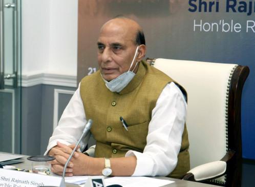भारत-चीन टकराव पर सर्वदलीय बैठक जारी, रक्षा मंत्री राजनाथ ने किया शुरुआती संबोधन
