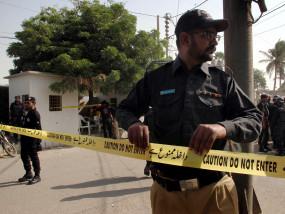 पाकिस्तान स्टॉक एक्सचेंज पर हमला, 2 की मौत