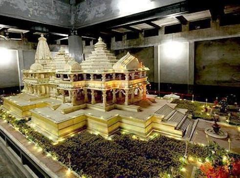 अयोध्या के संत चाहते हैं राम मंदिर के मॉडल में बदलाव