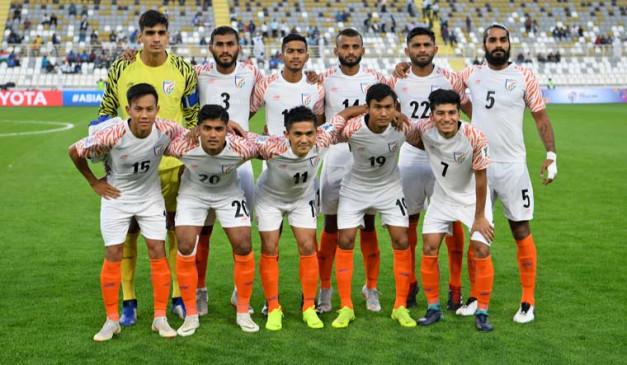 फीफा रैंकिंग: भारत 108वें नंबर पर कायम, बेल्जियम टॉप पर बरकरार