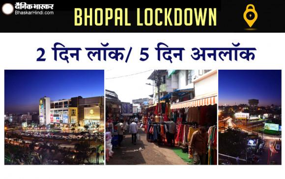 मप्र में कोरोना: भोपाल में अब हफ्ते में पांच दिन खुलेंगे बाजार, शनिवार-रविवार को रहेंगे बंद