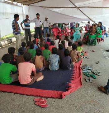बिहार : प्रवासी मजदूरों के बच्चों के स्कूलों में नामांकन के लिए चलेगा अभियान