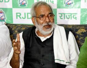 बिहार : पूर्व केंद्रीय मंत्री रघुवंश प्रसाद सिंह कोरोना पॉजिटिव, एम्स में भर्ती