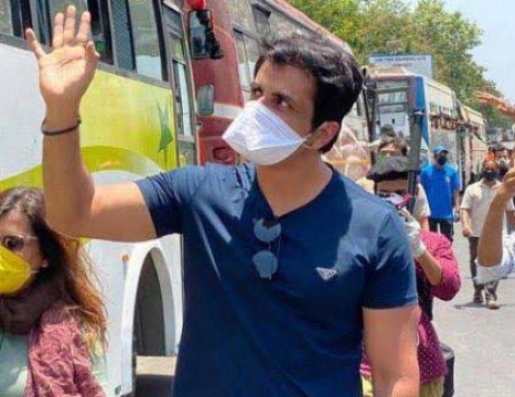 मप्र/रीवा: भाजपा विधायक ने प्रवासी मजदूरों के लिए सोनू सूद से मांगी मदद, कांग्रेस का हमला