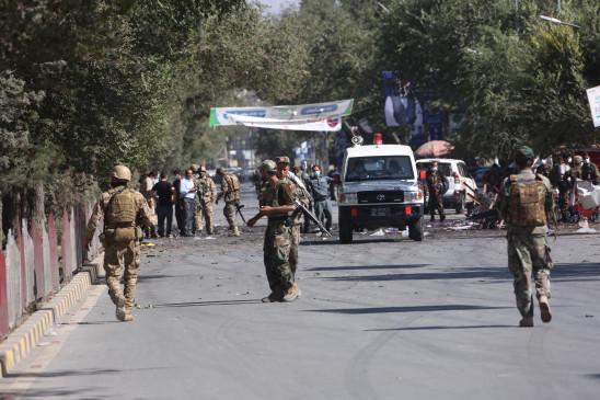काबुल मस्जिद में विस्फोट, 4 की मौत