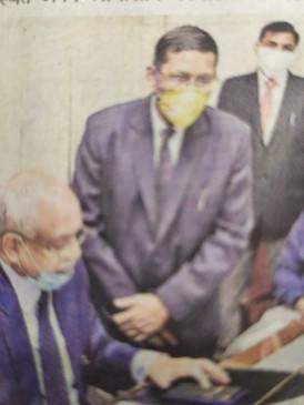 न्यायपालिका की तीन इमारतों का सीजे ने किया ई-उद्घाटन