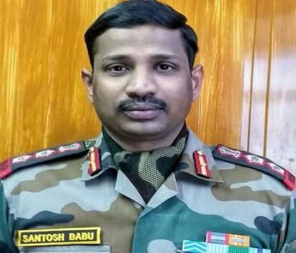 Colonel Santosh Babu martyr in Ladakh India China Clash Father ...
