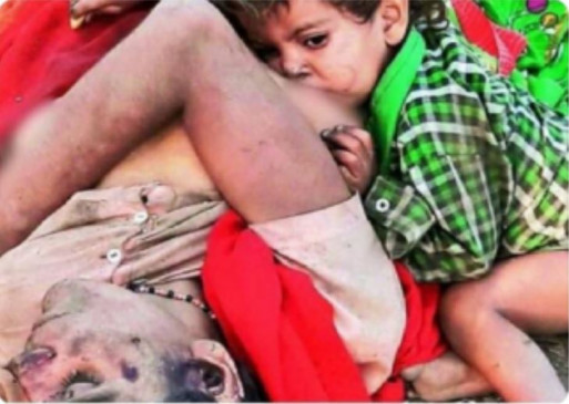 Fake News: पुरानी तस्वीर की नई कहानी, बेसुध पड़ी मां से लिपटकर दूध पी रहा बच्चा