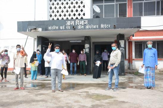 बिहार में कोरोना के अब 6,662 मरीज, मौतें बढ़कर 38