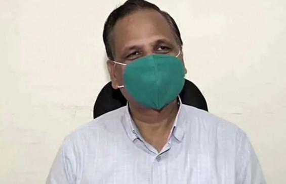 दिल्ली/कोरोना: स्वास्थ्य मंत्री सत्येंद्र जैन के फेफड़ों में बढ़ा इन्फेक्शन,ऑक्सीजन सपोर्ट पर