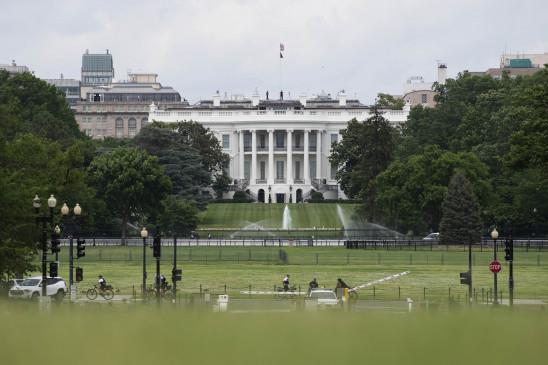 व्हाइट हाउस के पास विरोध प्रदर्शन के बाद वाशिंगटन में कर्फ्यू