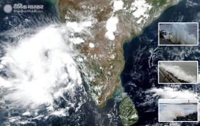 Cyclone: महाराष्ट्र के तटीय इलाकों से टकराया निसर्ग, तेज हवा- बारिश और लैंडफॉल, ट्रेनें-उड़ानें प्रभावित