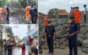 Nisarga Cyclone: महाराष्ट्र में दो की जान गई, मुंबई ने ली राहत की सांस, मध्यप्रदेश की ओर बढ़ा तूफान