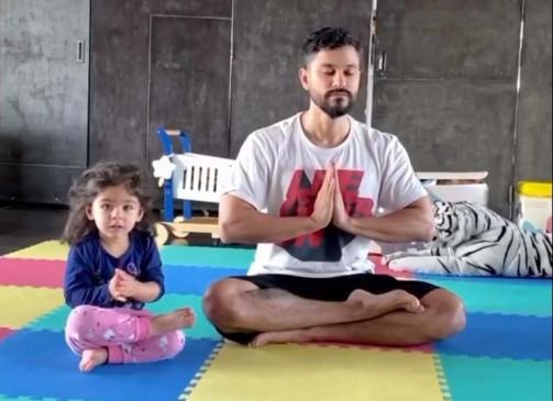अभिनेता कुणाल खेमू ने कहा, बेटी ने हमारे जीवन में सकारात्मकता लाई है