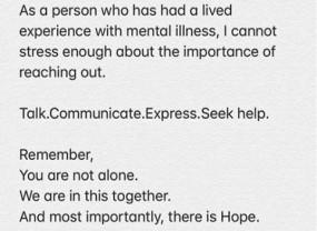 दीपिका ने अवसाद के दौरान बातचीत के महत्व को रेखांकित किया