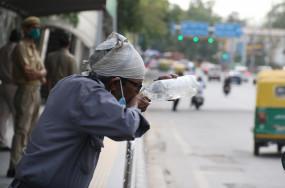 दिल्ली में तापमान 46.4 डिग्री सेल्सियस, सप्ताहांत के पहले कोई राहत नहीं