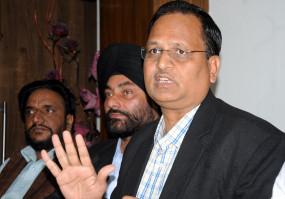 दिल्ली के स्वास्थ्य मंत्री हालत बिगड़ने पर मैक्स अस्पताल में भर्ती