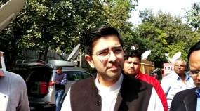 दिल्लीवासी आरएमएल अस्पताल जाने से बचें : राघव चड्ढा