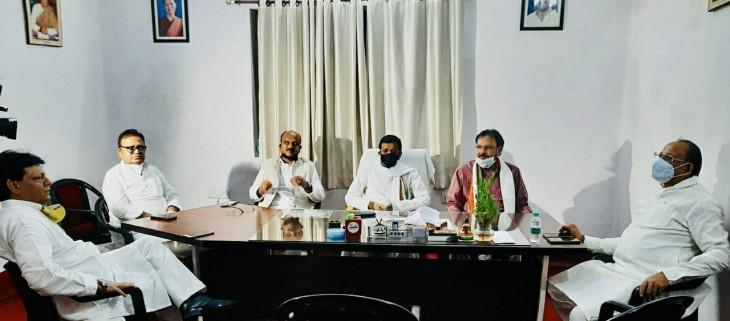 बिहार कांग्रेस की बैठक में चुनाव व सदस्यता अभियान पर चर्चा