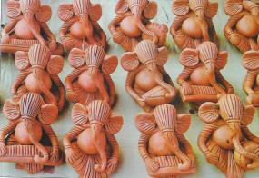 दिवाली में चीन से होगा उप्र की मूर्तियों का जोरदार मुकाबला