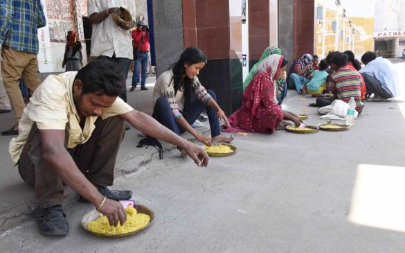 कोरोना काल में पूर्व-मध्य रेलवे ने 4.84 लाख जरूरतमंदों को मुफ्त भोजन करवाया