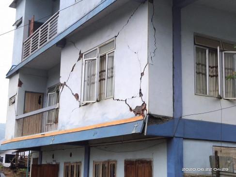 पूर्वोत्तर में भूकंप के झटके, मिजोरम में इमारतों को नुकसान पहुंचा