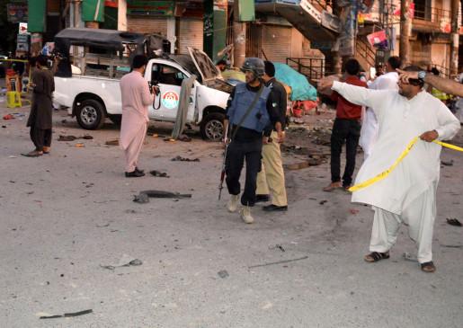 पाकिस्तान में विस्फोट, 3 की मौत