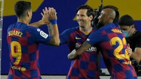 कोरोना के बीच फुटबॉल: बार्सिलोना ने ला लीगा के मैच में लेगनेस को 2-0 से हराया, मेसी ने सीजन का 21वां गोल दागा