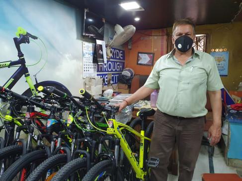 अनलॉक-1 में फिटनेस फ्रीक हुए लोग, साइकिल मार्केट में मांग बढ़ी