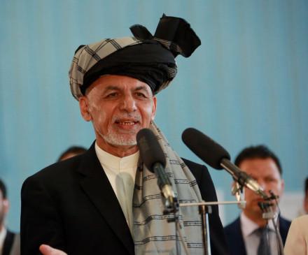 गनी का तालिबान से हिंसा खत्म करने, वार्ता शुरू करने का आग्रह