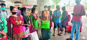 मध्यप्रदेश जाने वालों को बिहार की ट्रेन में बिठा दिया, जद्दोजहद के बाद नागपुर से पहुंचे अपने घर
