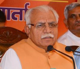 हरियाणा : विहिप की शिकायत पर मुख्यमंत्री खट्टर पहुंचे मेवात