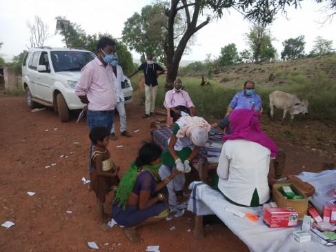स्वास्थ विभाग सकते में एक ही मोहल्ले में 25 लोगों को मलेरिया के लक्षण