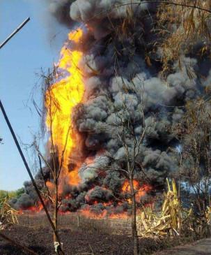 असम में गैस रिसाव से तेल कुएं में लगी भीषण आग, मुख्यमंत्री ने रक्षा मंत्री से की बात